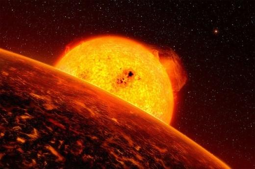 Exoplanet CoRoT-7b