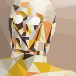 Poster: Eckige Star Wars Portraits von Liam Brazier