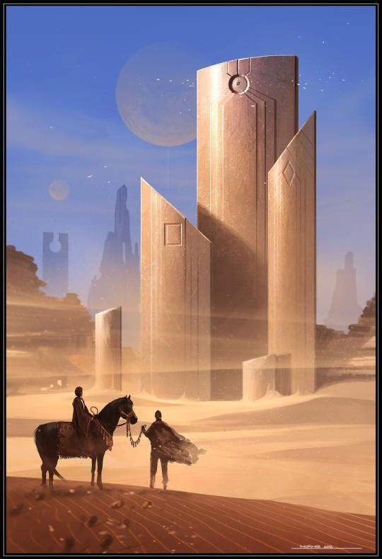 Science Fiction Illustrationen von George Munteanu