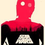 Doppeldeutige Star Wars Poster von Olly Moss