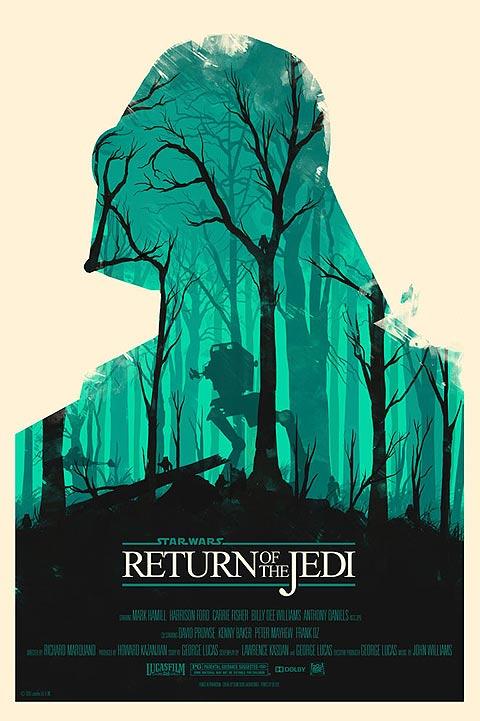 Stwar Wars Poster: Return of the Jedi